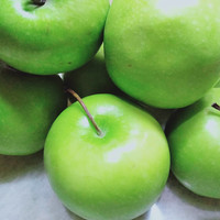 buah apel hijau, apel granny smith, per-pack 1/2kg