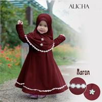 MK - Alicha Kids / baju muslim anak perempuan usia 2-3 tahun