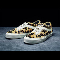 Sepatu Sneakers Vans Bold Ni Leopard Pack Original 100% BNIB Murah