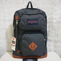 Tas Ransel Jansport Austin Forge Grey Backpack ( 100% Original Bag )