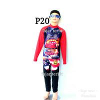 SD baju renang anak GAMBAR panjang karakter pria laki cowoK DIVING