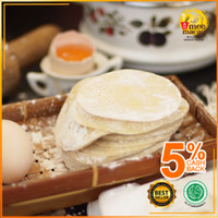 Kulit Dumpling/Pangsit/Gyoza/Swekiauw dari Telur Ayam Kampung Asli