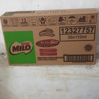 MILO SUSU UHT 115 ML COKELAT