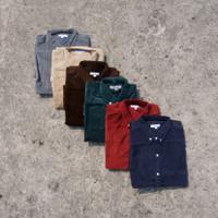 Tubico Corduroy Series Shirt Available 6 Color