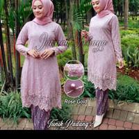 Baju gamis tunik padang 2~ kebaya burkat~kebaya wisuda~kebaya resepsi
