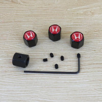 Tutup Pentil Ban Mobil / Motor Dengan Karakter Quality Import - Honda Merah
