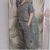 Baju tidur laki / piyama pria dewasa katun jepang / piyama cowok