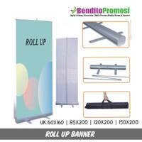 Rangka Roll Up Banner - Roll Banner - Standing Banner