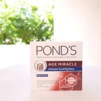 Ponds Age Miracle Night Cream 50g Ultimate Youthful Glow