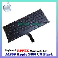 Keyboard APPLE MacBook Air apple A1369 A1466 US Black
