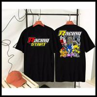 Kaos Distro Racing Star Sonic / Baju Distro Racing Star