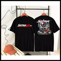 Baju Kaos Distro Racing Satria F150 / Satria Fu