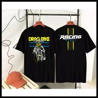 Baju Kaos Distro Drag Bike Racing Star