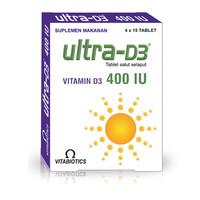 Vitabiotics Ultra Vitamin D3 400IU (60 Tablet)