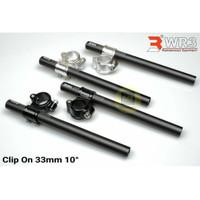 Stang Jepit WR3 33mm 10 derajat Ninja RR 150 NINJA R 150 R15 V2