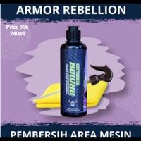 Armor Rebellion Pembersih Mesin Ampuh Promo by Moormiles
