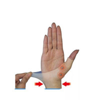 Magnetic Therapy Wrist Hand Thumb Support Glove Silicone Gel Arthritis