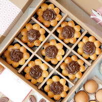 Collagen Choux (Box of 9) - Choco Box