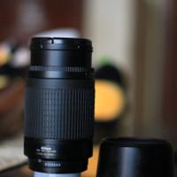 Lensa Nikon Tele Zoom AF NIKKOR 70-300MM f/4-5.6G Second Masih Garansi