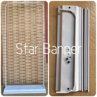 Standing Door Frame Banner 80x180