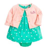 Setelan baju bayi cewe / baju bayi perempuan/ dress bayi murah