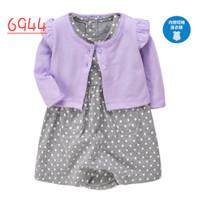 Setelan dress perempuan / baju bayi murah lucu branded