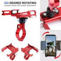 Phone Holder GUB Plus 360 rotating Untuk sepeda