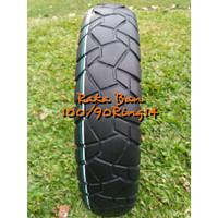 BAN MOTOR MATIC TUBLES SEMI TRAIL UKURAN 100/90 RING14 MERK ASPIRA