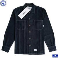 WTAPS® Mine LS Shirt Cotton Denim - Indigo