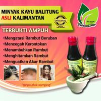 HEBOH! Minyak Kayu Balitung Pencegah Kerontokan / Uban 100% asli