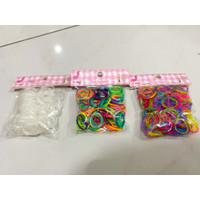 Refill Rainbow Loom Bands / Loomband Gelang Karet Mainan Anak