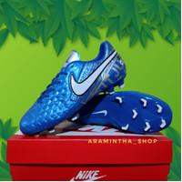 Sepatu Sepak Bola Nike Tiempo Blue Murah Awet