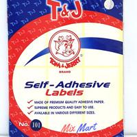 Label Tom & Jerry Sticker 121 Self Adhesive Label T&J Labels ECERAN - 101