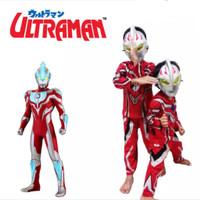 Baju anak kostum ULTRAMAN Size 4-20(s)/2-10 thn