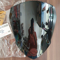 visor depan vixion new rayband hitam doff windshield vixion 2012-2014