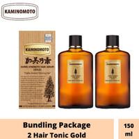 BUNDLING PACKAGE 2 KAMINOMOTO HAIR TONIC GOLD 150ml