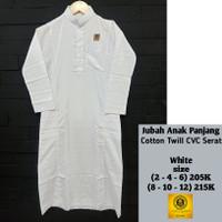 gamis jubah putih anak laki AL AMWA