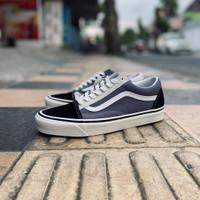 Sepatu Vans Old Skool 36 Anaheim Black Grey White Original 100% BNIB