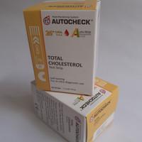 STRIP AUTOCHEK KOLESTEROL - AUTOCHECK CHOLESTROL (ISI 10)