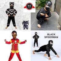 Kostum baju anak avenger Hulk spiderman ven captain america terbaru