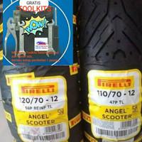 Ban Pirelli Vespa Sprint 110/70-12 & 120/70-12 Angel Scooter