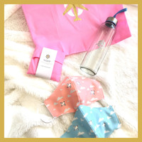 500ml water bottle + 2 Masks + Reusable shopping Bag