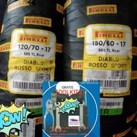 Ban Pirelli Diablo Rosso Sport 120/70-17 & 150/60-17 Ninja250,Cbr250