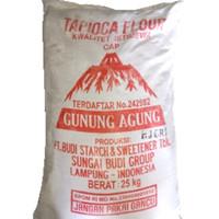 tepung tapioka cap gunung agung / 1kg