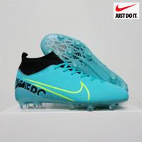 Sol Bening Sepatu Bola Nike Mercurial Terlaris - Biru Muda, 39