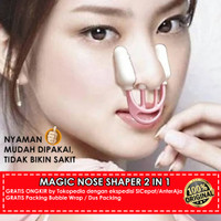 alat pemancung hidung asli magic nose shaper 2 in 1 Original