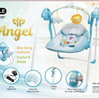Bouncer Baby Elle Angel - Blue