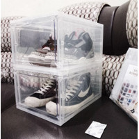 Kotak Sepatu Pria Akrilik / Shoes Box Acrylic Transparan size BESAR