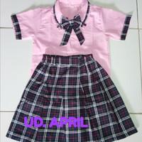 Baju seragam kotak anak TK