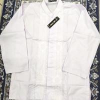 Baju Koko Murah Anak Tanggung / Remaja Lengan Panjang Putih